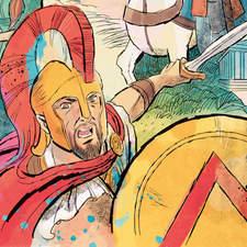 Historical fiction anthology opener illustration
