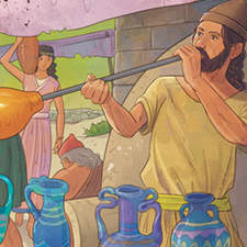 Phoenician civilization - Educational illustration