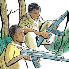 Contemporary fiction anthology - Child soldiers in Africa