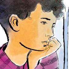Contemporary fiction anthology - Palestinian boy