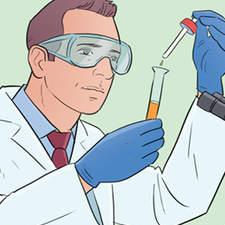 Steps of the scientific method - Educational illustration