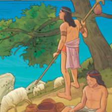 Minoan civilization - Educational illustration
