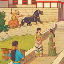 Mycenaean civilization - Educational illustration