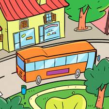 The city - Educational illustration