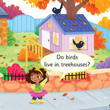 Educational Children's Book - Do Birds live in treehouses? - Collins