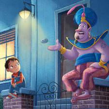 versioned story of Aladdin
