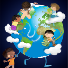This is my illustration to participate in the campaign Our Other Mother Earth. Lovely  campaign ! Thank you