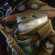Sergeant Shroom - A mushroom fighter