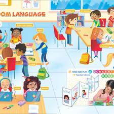 Educational book, welcome pages ©Giunti