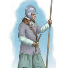 17th Century pike man/infantry