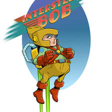 Interstellar Bob, space adventurer