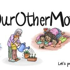 Illustration for #OurOtherMother 2021.