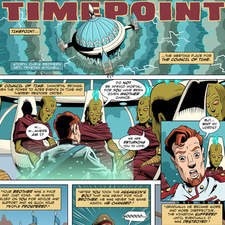 Time travel comic strip
