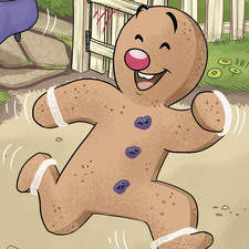 The Ginger Bread Man. A Balberry book published in 2019