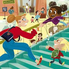 School Trip for Superheroes Maverickbooks Early Readers