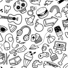 Doodles wallpaper