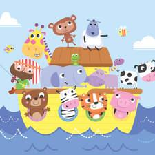 All aboard Noah's ark.