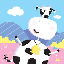 Cowbell cow
