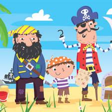 Treasure at pirate bay.