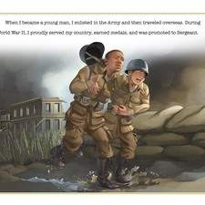 """Artwork for the book """"I am Sergeant Isaac Woodard""""- written by Laura M. Williams - USA"""