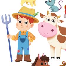 Farm animals for Igloo Books