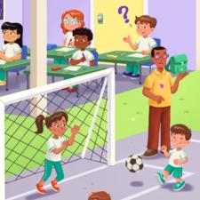 educacional illustration for Ed. Moderna