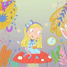 Alice in Wonderland, portfolio piece