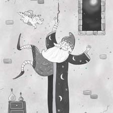 Magic wizard