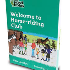 Collins, peapod readers, Welcome to Horse-riding Club