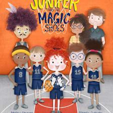 Juniper & The Magic Shoes - cover design Text Copyright © 2020 Dagny Cannon Illustrations Copyright © 2020 Serineh Eliasian