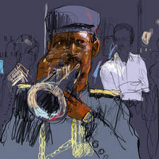 Personal Work, Indian trumpet player New Delhi
