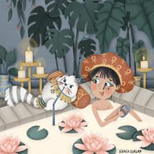 Cleopatra & Mr. Tibbles  Text Copyright © 2021 Zoë Tucker  Illustrations Copyright © 2021 Serineh Eliasian