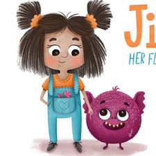 Jitna & Her Fluffy Monster - Character sheet