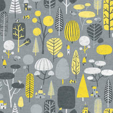Yellow & Gray Forest