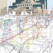 London Transport Museum, Serco Prize for Illustration 2012, England, Mi6