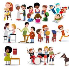 Children and more children