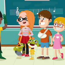 Music school. Published by Bromera