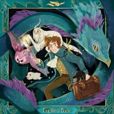 Art Theme for LitJoy crate - Fantastic Creatures