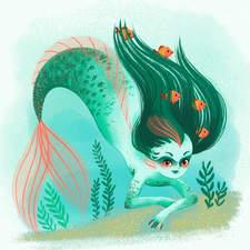 Mermaid - personal work 2021
