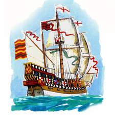 English Galleon