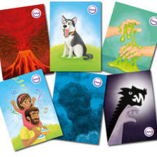 Emotional cards to help children say how they feel.