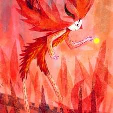 fire fairy looking for energy