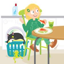 Collins ELT Primary Readers Robot Boy and Frog Girl