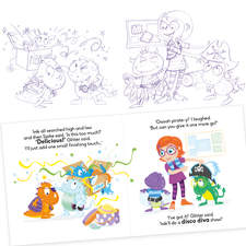 Client: TED - The Entertainment Department Project: Illustrations for 5 Cheeky Monster books.