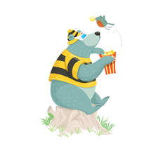 Client:  Beehive Illustration. Project: website refresh. Character development.