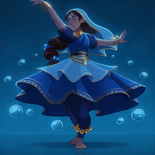Character Design - Indian Dancer (2020)