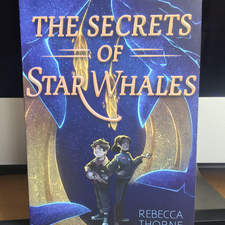 The Secret of Star Whales - Book Cover Illustration (2019)