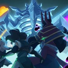 RuneScape - Reveal Artwork - Elder God Wars Dungeon - The Glacor Front (2021)