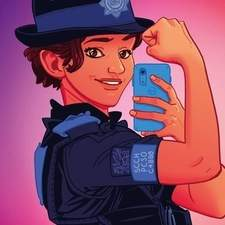 Cover artwork for the YLolfa book, Gorau Glas.