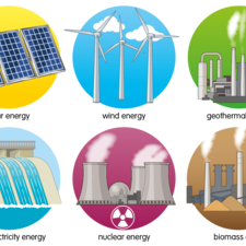 Different green energy sources